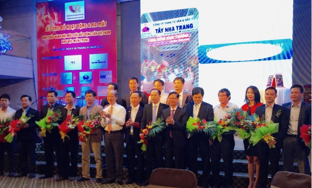 BCH mới của Hiệp hội BĐS Việt Nam tại miền Trung