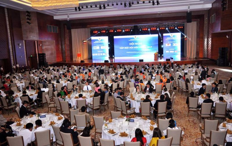 Toàn cảnh Hội nghị thường niên gặp mặt hội viên Hiệp hội BĐS Việt Nam năm 2017