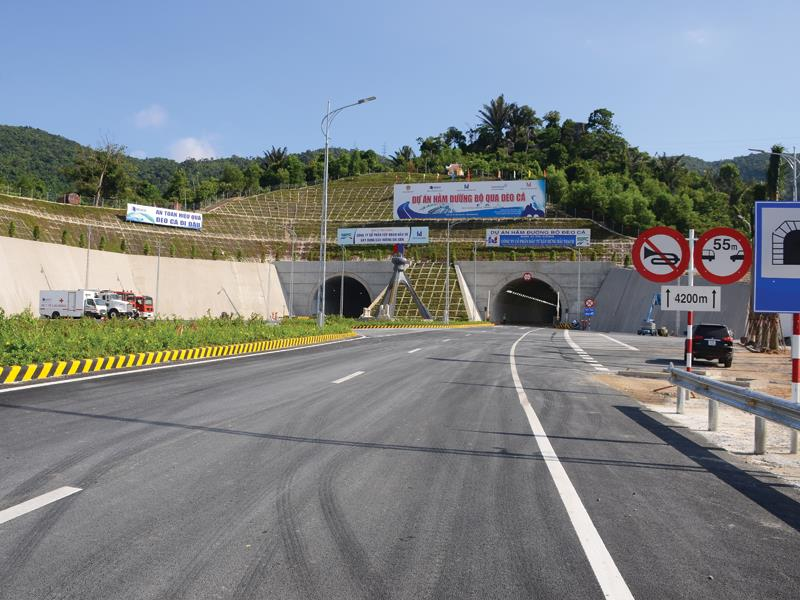 Hầm đường bộ Đèo Cả sẽ góp phần phát triển kinh tế khu vực miền Trung - Tây Nguyên.